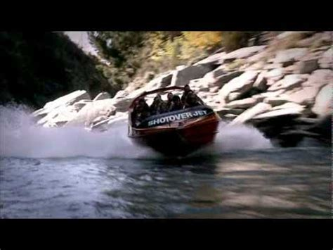 Boat Ride Movie by Shotover Jet Boat Ride Queenstown New Zealand Youtube