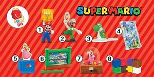 Super Mario Happy Meal Toys Hitting McDonald39s In North