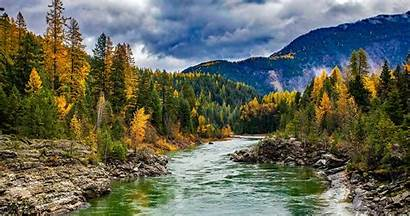 Montana Rivers Hike Places River Gold Fly