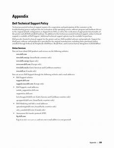 Appendix  Dell Technical Support Policy  Online Services