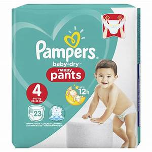Pampers Baby Dry Pants Size 4 Maxi 23pk at wilko.com