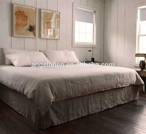 100% Pure Linen Bedding Sets In Queen Size;double Size
