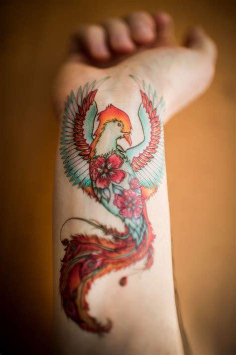 tatouage phoenix femme signification emplacements