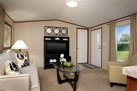 black and white bedrooms trumh dempsey bliss 2 bedroom 1 bath mobile home for 14562 | TruMHDempsey TRU14562A Living Room