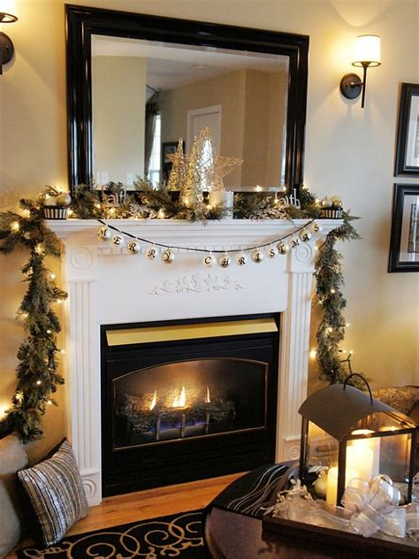 decorated mantels 50 christmas mantle decoration ideas