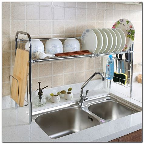 above sink dish rack dish rack above the sink sink and faucet home