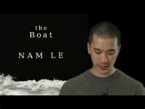 The Boat Nam Le by Nam Le Reading From His Book The Boat Available Now