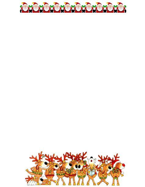 free christmas stationery free printable santa letterheads 9jasports