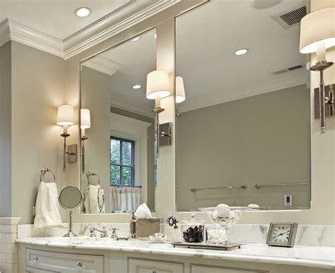 como iluminar  espejo de bano todo sobre lamparas
