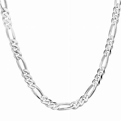 Chain Necklace Jewelry Cadena Plata Cartier Figaro