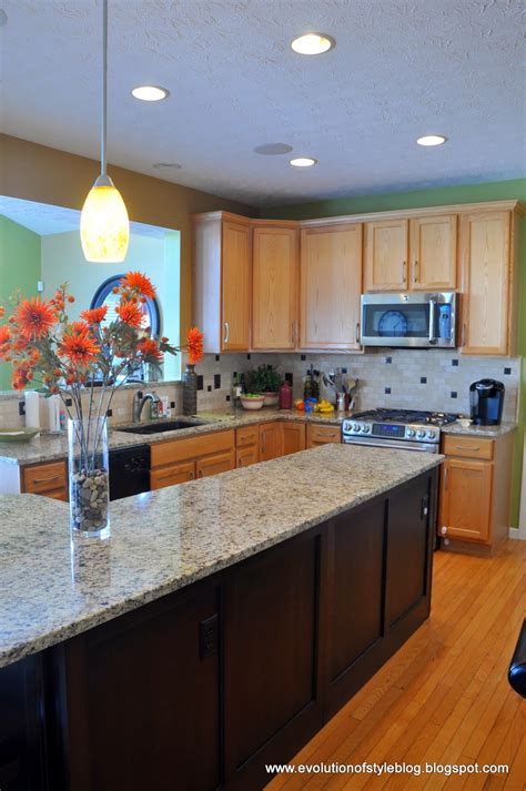 great kitchen cabinets another builder grade kitchen transformed evolution of style 1335