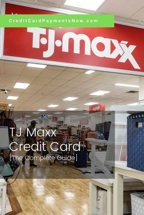 Customers of tjx credit card or tjx rewards card can pay their tjx bill online using online portal. TJmaxx Credit Card The Complete Guide   Credit card, Tj maxx, Credit card payment