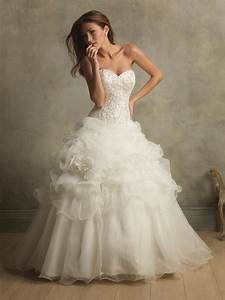 Ivory floral organza ball gown designer vintage wedding for Vintage designer wedding dresses