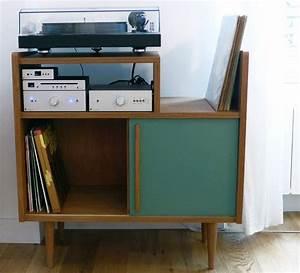 meuble rangement pour disque vinyle 2 17 meilleures With meuble vinyle