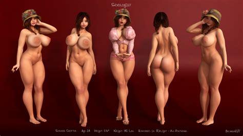 Rule 34 1girls 3d Artist Name Back View Bare Shoulders