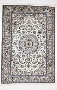 splendide tapis persan nain en laine et soie iran 750 With tapis persan avec canapé cubic