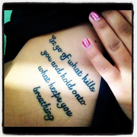 quotes  girls side tattoos quotesgram