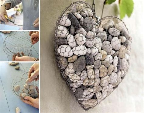 besten kreativ mit steinen bilder auf pinterest
