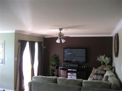 Dark Brown Walls Living Room [peenmediacom]