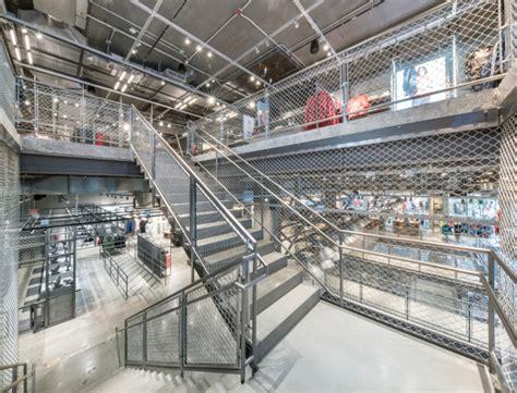 adidas nyc store  york city retail design blog