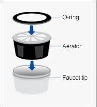 Faucet Aerator Assembly Moen by Replace Faucet Aerator