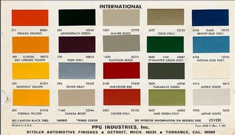 tractor color chart case ih google search ih paint