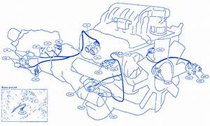 Nissan 350z 2003 Main Engine Electrical Circuit Wiring