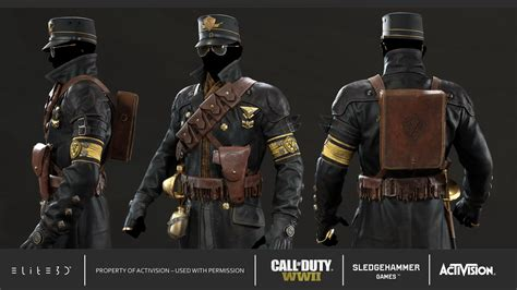 call  duty wwii characters zombie mode elited
