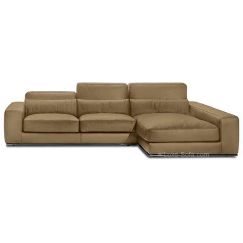 canapé d angle moelleux canapé d 39 angle de luxe en cuir de vachette matisse verysofa