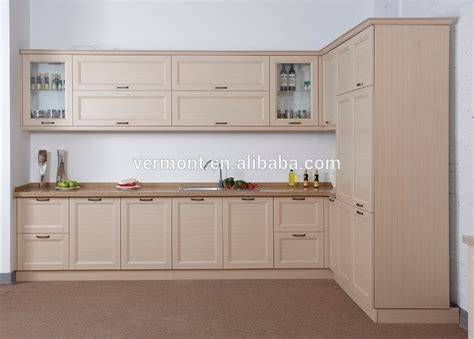reparation armoire de cuisine style européen pvc moulé armoires de cuisine porte