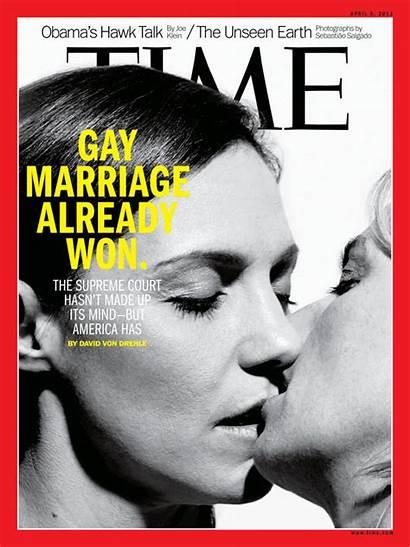 Magazine Gay Covers Marriage April Propaganda Already