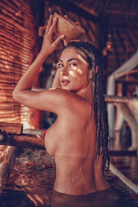 Arianny Celeste Looking Alright Naked In Tulum Mexico Of The Day DrunkenStepFather Com