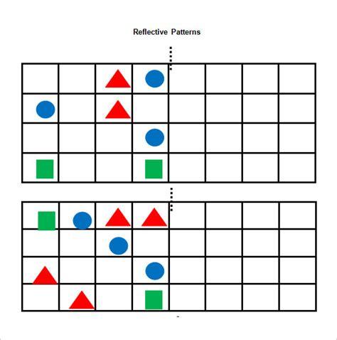 pattern worksheets 187 symmetrical pattern worksheets ks1