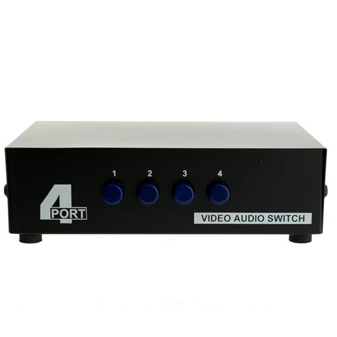audiovideo rca selector switch