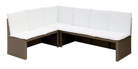 ot2102 gray wicker outdoor patio dining set los angeles
