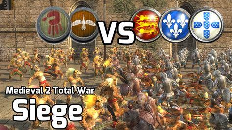 2 total war siege 2 total war battles 223 2v3 siege