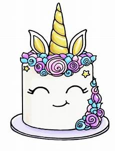 Unicorn Cake | рисунки | Pinterest | Unicorns, Cake and Kawaii