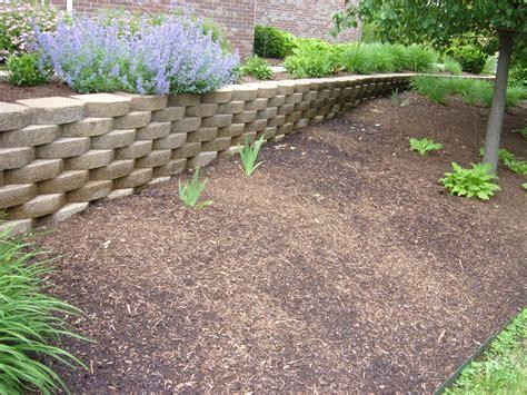 garden retaining wall landscape retaining wall options work tri cities wa
