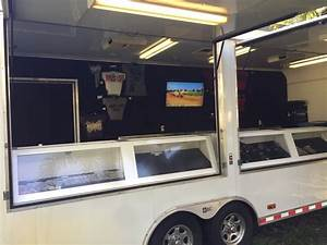 Pace American Merchandise Trailer For Sale In Fort Lauderdale  Fl