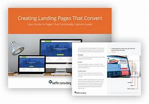 Creating Landing Pages That Convert  Free Guide