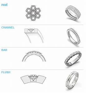 ring settings different engagement ring settings types With wedding ring setting types