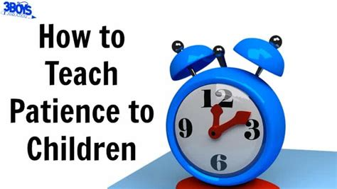 teaching patience to preschoolers how to teach patience to children 3 boys and a 3 941
