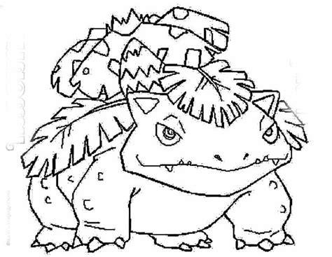 Pokemon Fushigibana Coloring Page