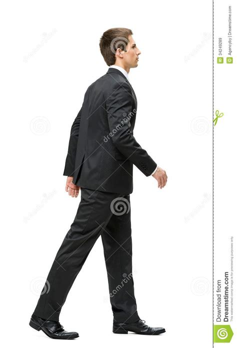 Manager Profile Sle by Profile Of Walking Manager Royalty Free Stock Images