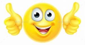 Thumbs Up Emoticon Emoji by Krisdog GraphicRiver