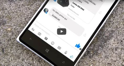 tour of the new messenger for windows 10 mobile
