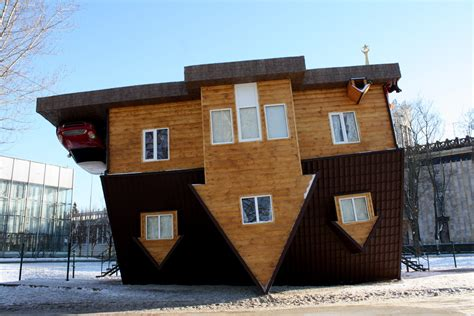 The Upside Down House At вднх
