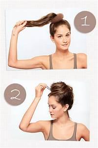 Kurze Haare Hochstecken Leicht Gemacht : einfache hochsteckfrisuren zum selbermachen ~ Frokenaadalensverden.com Haus und Dekorationen