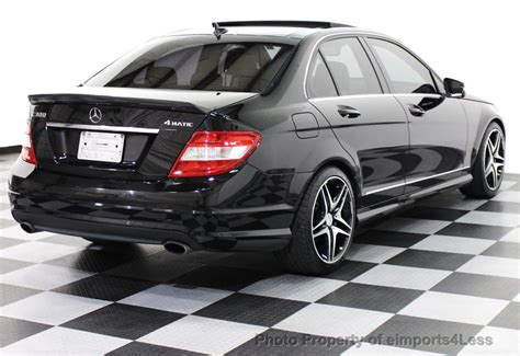 Both the sport model and luxury models have different front ends and side skirts. 2010 Used Mercedes-Benz C-Class C300 4Matic Sport Package AWD NAVIGATION at eimports4Less ...