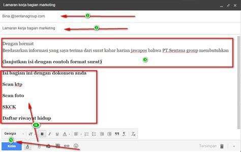 Contoh Tulisan Di Lop Surat Lamar Kerja by Syarat Dan Kelengkapan Melamar Kerja Dengan Email Panduan